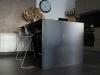 1.-Mueble de Hierro, con zonas de trabajo de acero inoxidable