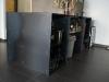 2.-Mueble de Hierro, con zonas de trabajo de acero inoxidable