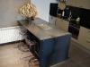 3.-Mueble de Hierro, con zonas de trabajo de acero inoxidable